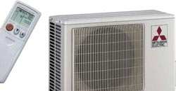 Mitsubishi Ductless Air Conditioners MN