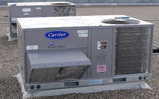 Carrier Commercial Ac Rooftop Hvac Mn