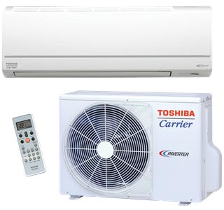 Carrier Toshiba Ductless AC Installation Minneapolis St Paul MN