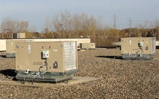 Lennox Gas Electric Packaged Air Conditioning And Heating Rooftop Units